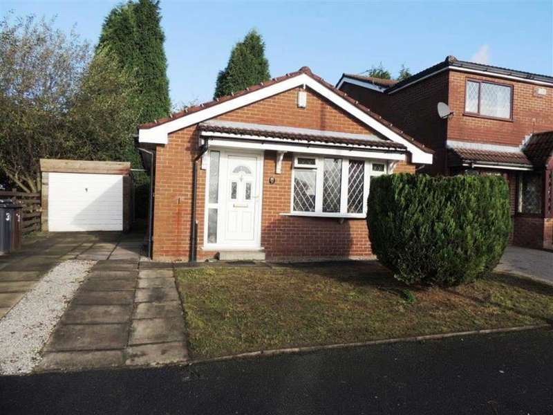 2 Bedrooms Detached Bungalow for sale in Nightingale Drive, Audenshaw, Manchester