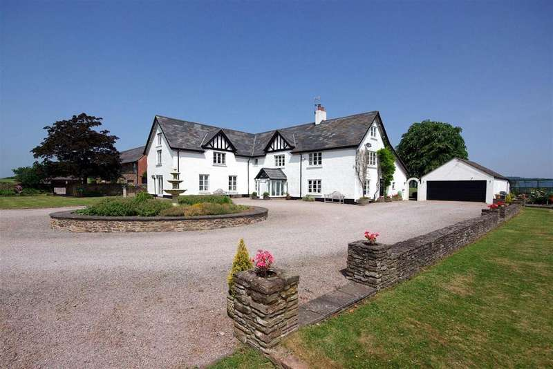 5 Bedrooms Detached House for sale in Monmouth, Monmouthshire