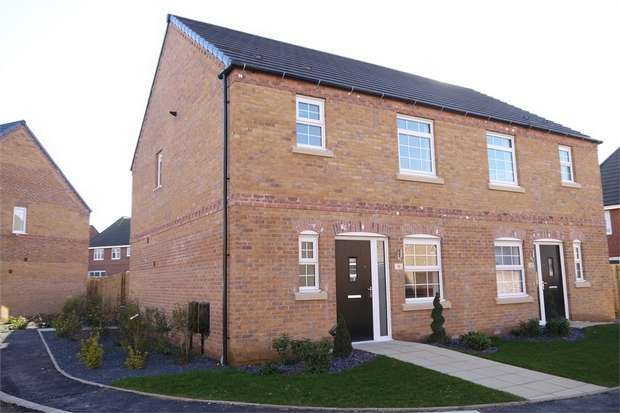3 Bedrooms Semi Detached House for sale in Brulow Close, Market Harborough