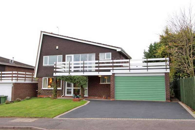 4 Bedrooms Detached House for sale in Swallowdale, Wightwick, Wolverhampton, WV6