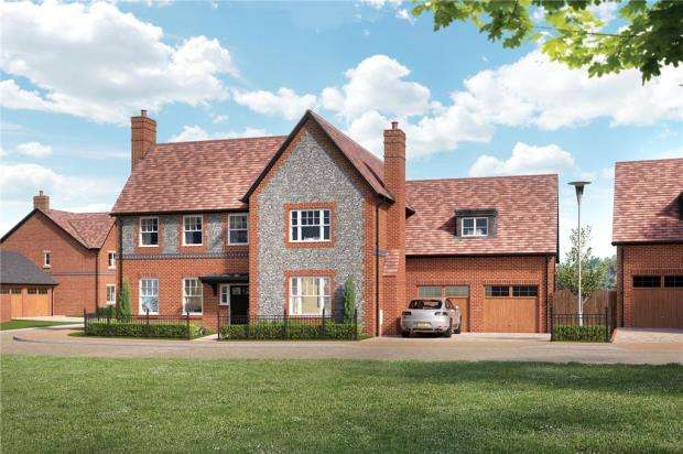 5 Bedrooms Detached House for sale in Highlands Park, Highlands Lane, Henley-On-Thames
