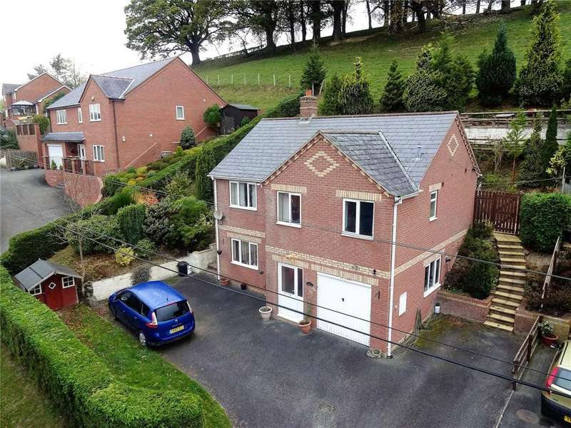 3 Bedrooms Detached Bungalow for sale in Step A Side, Mochdre, Newtown, Powys