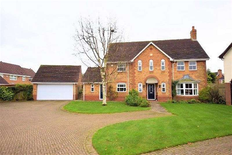 5 Bedrooms Detached House for sale in Linton Avenue, Solihull, West Midlands