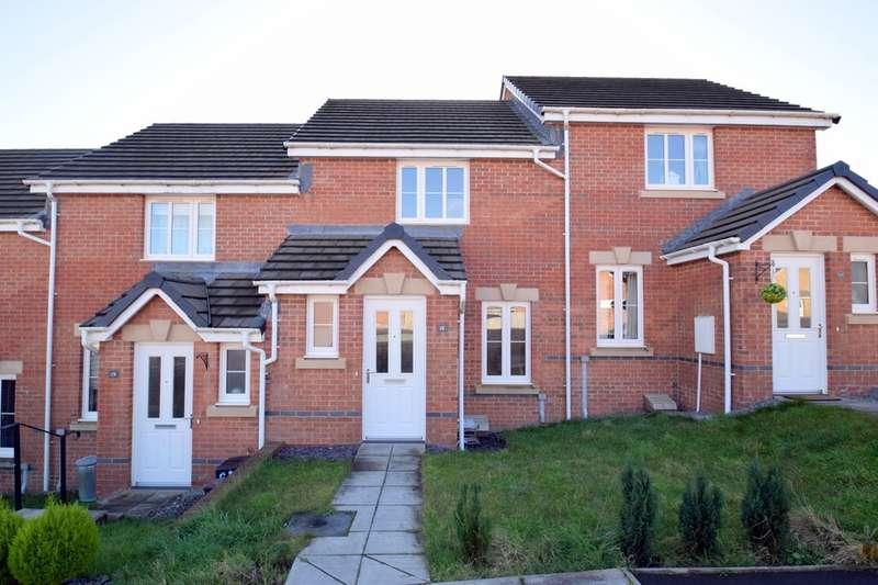 2 Bedrooms Terraced House for sale in 18 Clos Gwaith Brics, Tondu, Bridgend, Bridgend County Borough, CF32 9GA.
