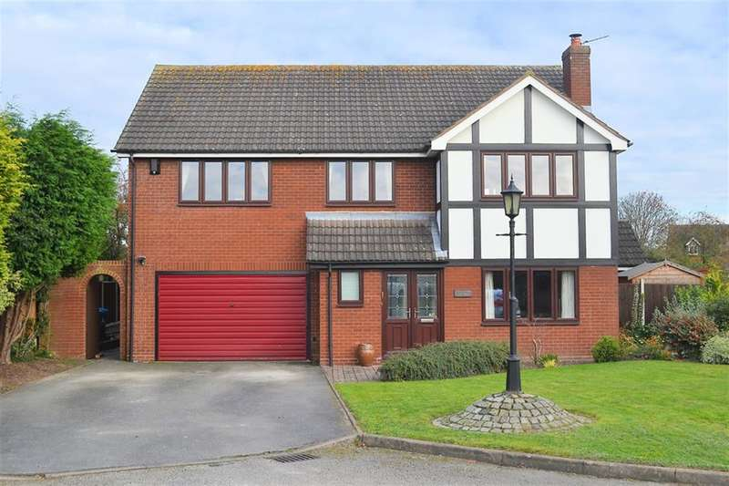5 Bedrooms Detached House for sale in Wilkins Croft, Alrewas