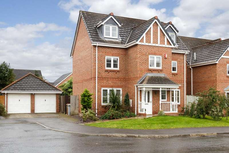 5 Bedrooms Detached House for sale in Stapeley, Cheshire