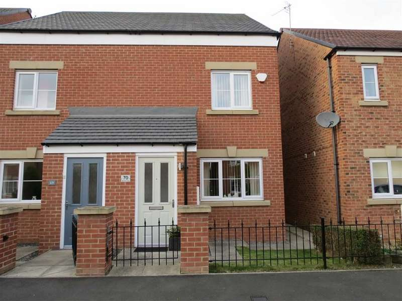 3 Bedrooms Semi Detached House for sale in Barnwell View, Herrington Burn, Penshaw