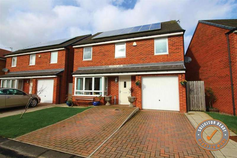 4 Bedrooms Detached House for sale in Warrington Grove, North Shields