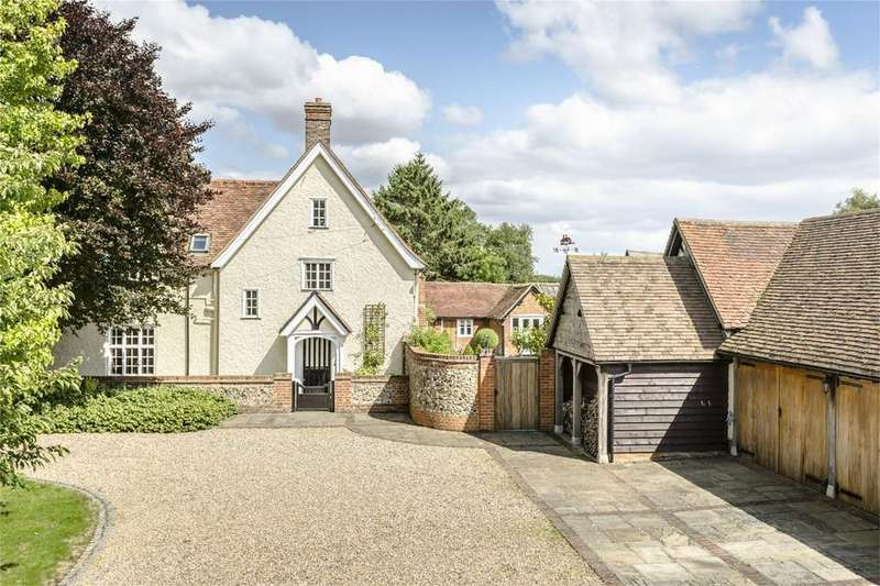 5 Bedrooms Detached House for sale in Beldams Lane, BISHOP'S STORTFORD, Hertfordshire