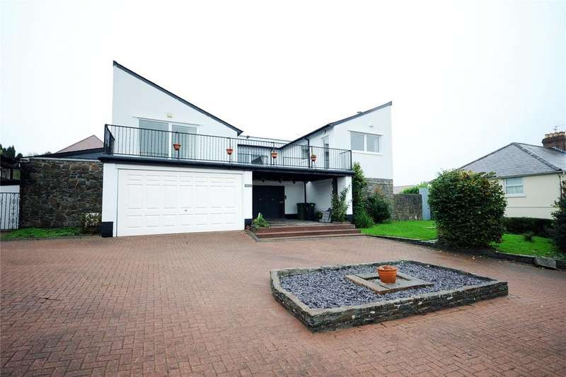4 Bedrooms Detached House for sale in Cefn Mably Road, Lisvane, Cardiff, CF14