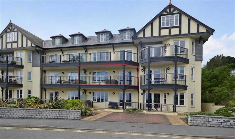 2 Bedrooms Apartment Flat for sale in Queen Mary House, Falmouth, Falmouth, Cornwall, TR11