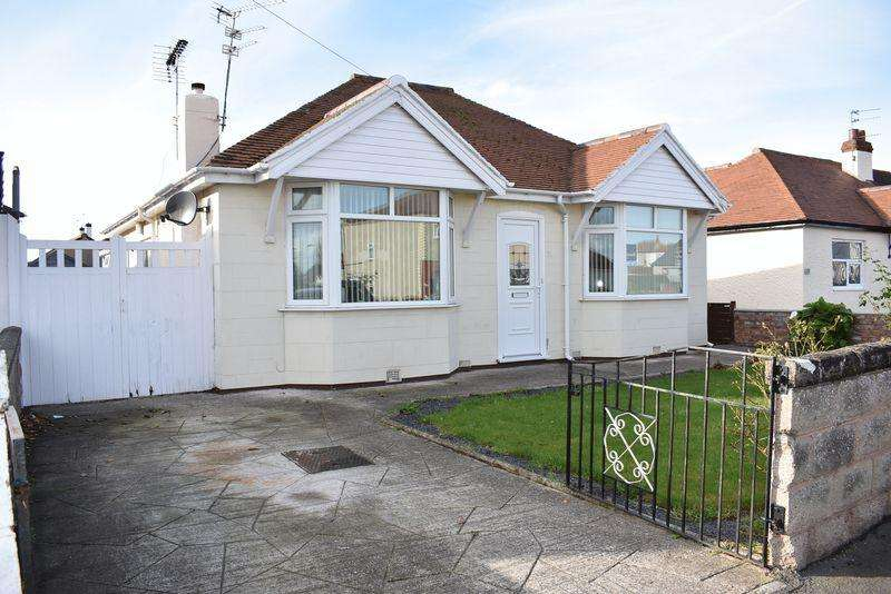 2 Bedrooms Detached Bungalow for sale in Tynewydd Road, Rhyl