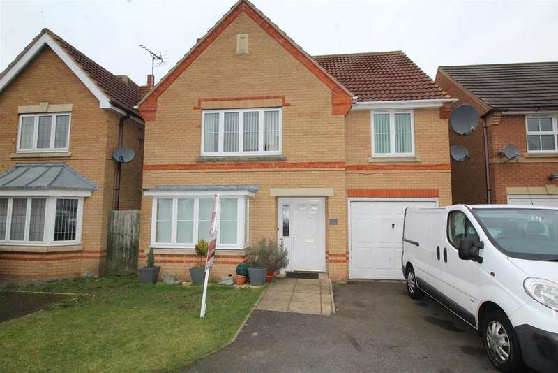 4 Bedrooms Detached House for sale in Leiston Court, Eye, Peterborough