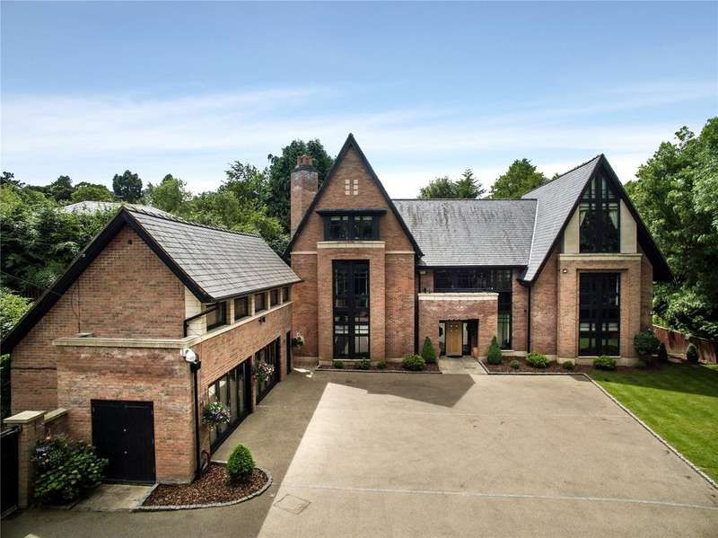 6 Bedrooms Detached House for sale in Collar House Drive, Prestbury, Macclesfield, Cheshire, SK10