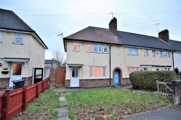 3 Bedrooms End Of Terrace House for sale in Kingsland Avenue, Kingsthorpe, NORTHAMPTON