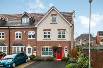 4 Bedrooms End Of Terrace House for sale in Llys Onnen, Llandudno Junction, Conwy, North Wales, LL31