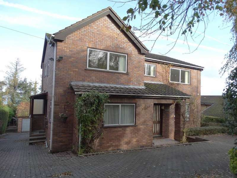 4 Bedrooms Detached House for sale in The Brindles 32 Pen Y Bryn Road, Upper Colwyn Bay, LL29 6AF
