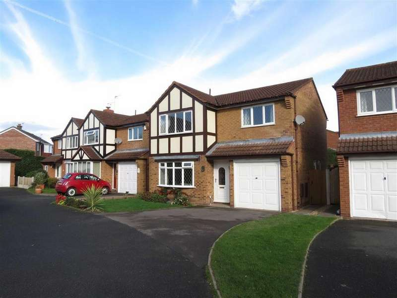 4 Bedrooms Detached House for sale in Sedgeford Drive, Off Portland Crescent, Shrewsbury, Shropshire