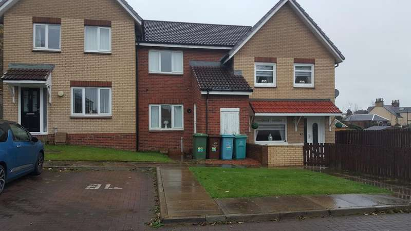 2 Bedrooms Terraced House for sale in Ferguson Way , Airdrie ML6