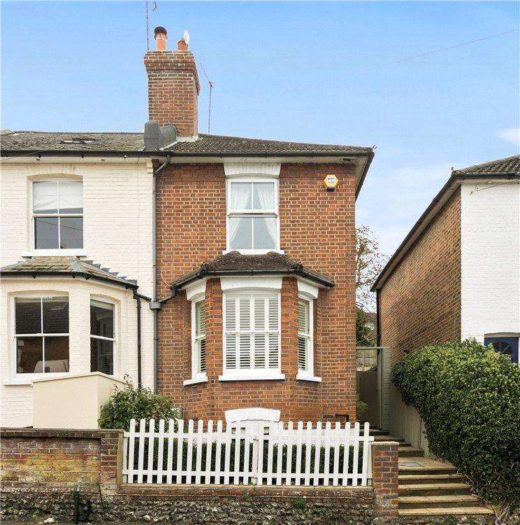 3 Bedrooms Semi Detached House for sale in Addison Road, Guildford, Surrey, GU1