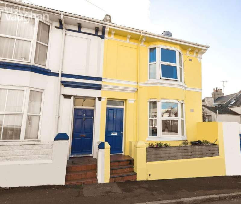 5 Bedrooms Town House for sale in Agnes Street, Brighton, BN2
