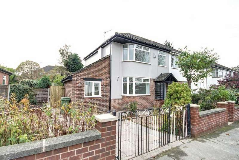 3 Bedrooms Semi Detached House for sale in Vale Road, Timperley, Cheshire