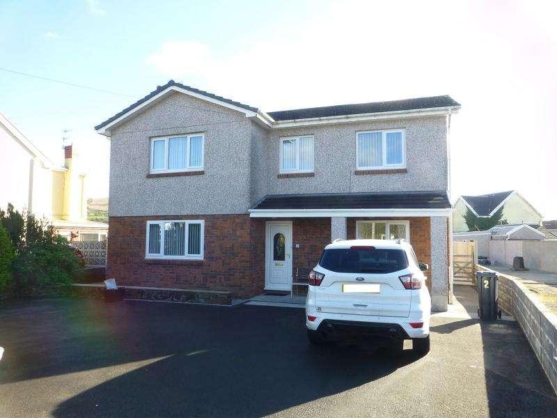 4 Bedrooms Detached House for sale in Twynrefail Place, Gwaun Cae Gurwen, Ammanford, Carmarthenshire.