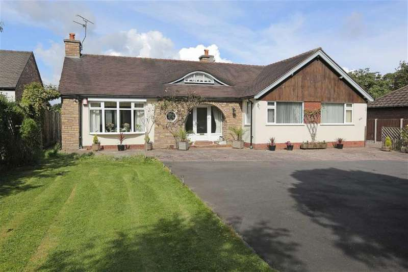 3 Bedrooms Detached Bungalow for sale in Crewe Road, Nantwich, Cheshire