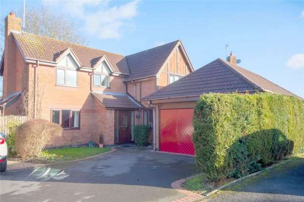 4 Bedrooms Detached House for sale in Statfold Lane, Fradley, Lichfield, Staffordshire