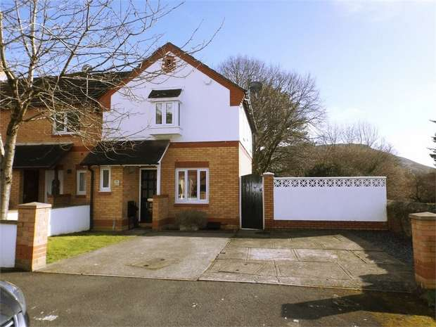 3 Bedrooms Semi Detached House for sale in Sycamore Court, Baglan, Port Talbot, West Glamorgan