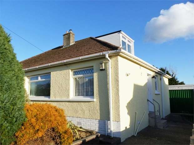 2 Bedrooms Semi Detached Bungalow for sale in Longfellow Drive, Cefn Glas, Bridgend, Mid Glamorgan