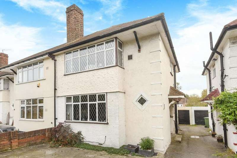 3 Bedrooms Semi Detached House for sale in Kidbrooke Way, Blackheath