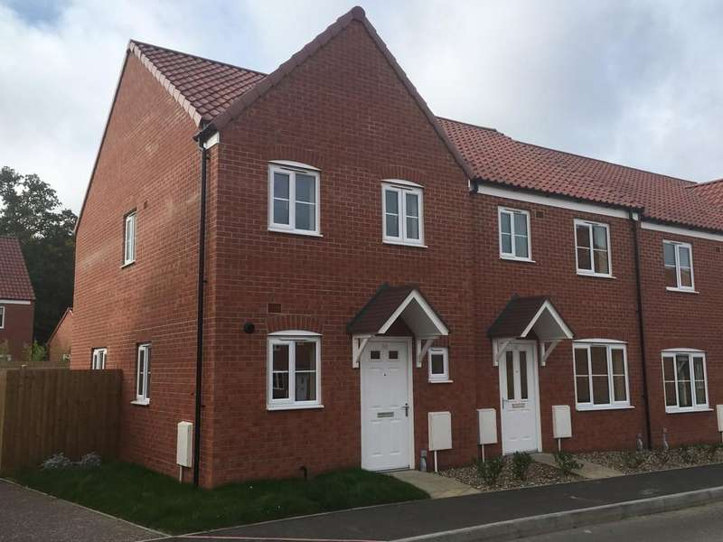 2 Bedrooms End Of Terrace House for sale in Avocet Rise, Sprowston, Norwich