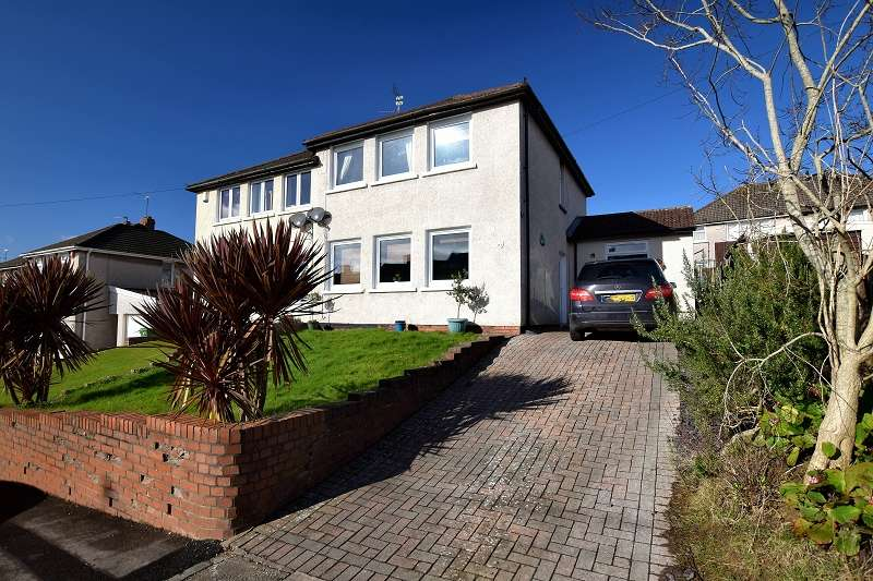 3 Bedrooms Semi Detached House for sale in Johnston Road, Llanishen, Cardiff. CF14 5HH