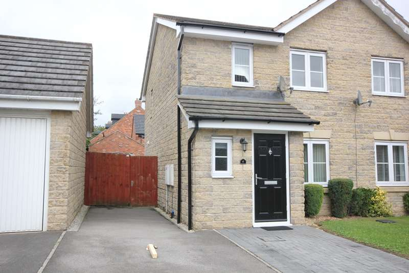 3 Bedrooms Semi Detached House for sale in Finsbury Close, Dinnington, S25
