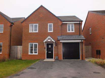 4 Bedrooms Detached House for sale in Atlantean Drive, Leyland