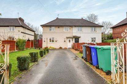 3 Bedrooms Semi Detached House for sale in Royal Oak Road, Baguley, Manchester