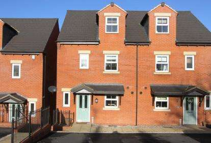 4 Bedrooms Semi Detached House for sale in College Mews, Church Street, Clowne, Chesterfield
