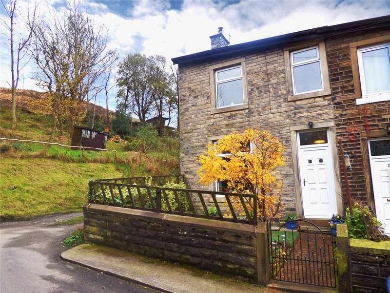 2 Bedrooms End Of Terrace House for sale in Ottiwells Terrace, Marsden, Huddersfield, West Yorkshire, HD7