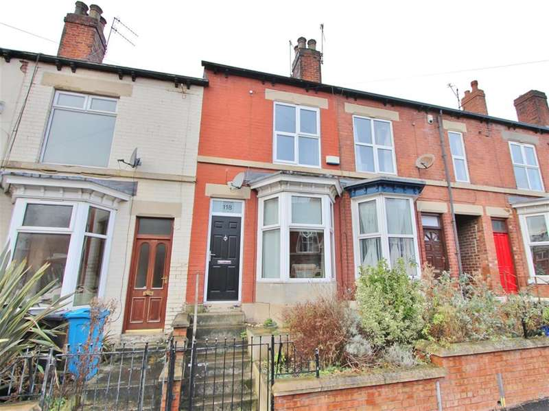3 Bedrooms Terraced House for sale in Vincent Road, Sheffield, S7 1BX