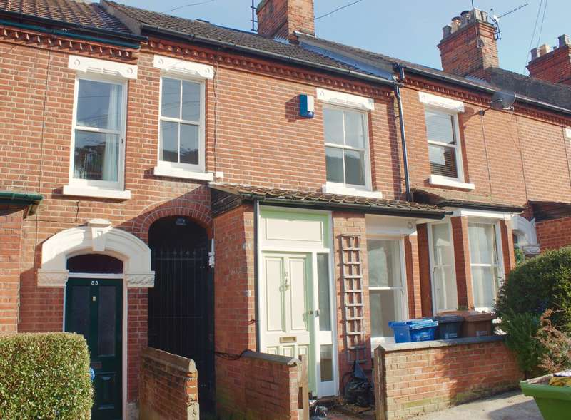 3 Bedrooms Terraced House for rent in Dover Street, Norwich, NR2