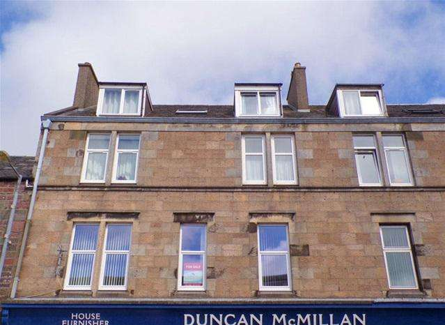 3 Bedrooms Flat for sale in 78 Longrow, Campbeltown, PA28 6DD