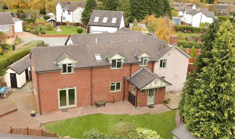 3 Bedrooms Semi Detached House for sale in Ellesmere Road, St Martins, Oswestry, SY11