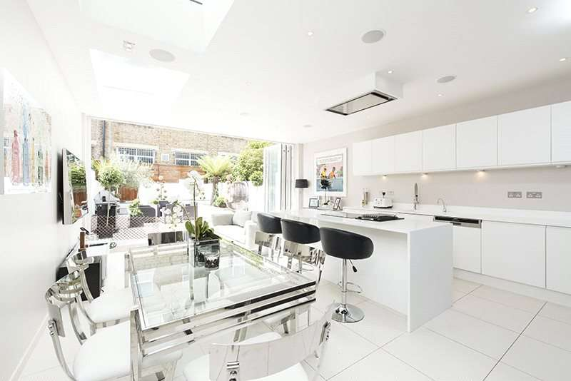 5 Bedrooms Terraced House for sale in Parsons Green Lane, Parsons Green, Fulham, London, SW6