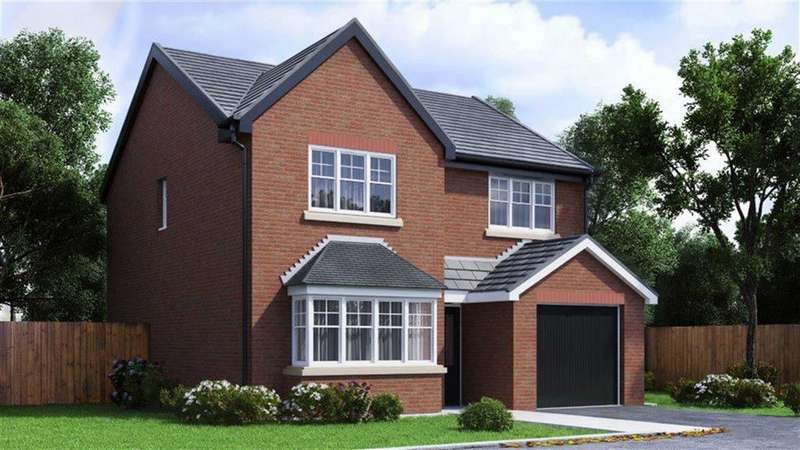4 Bedrooms Detached House for sale in The Maidstone, Plot 61, Lakeside Gardens, Blackburn, BB2
