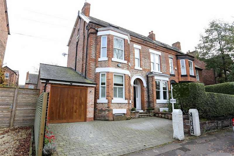 5 Bedrooms Semi Detached House for sale in Northen Grove, West Didsbury, Manchester