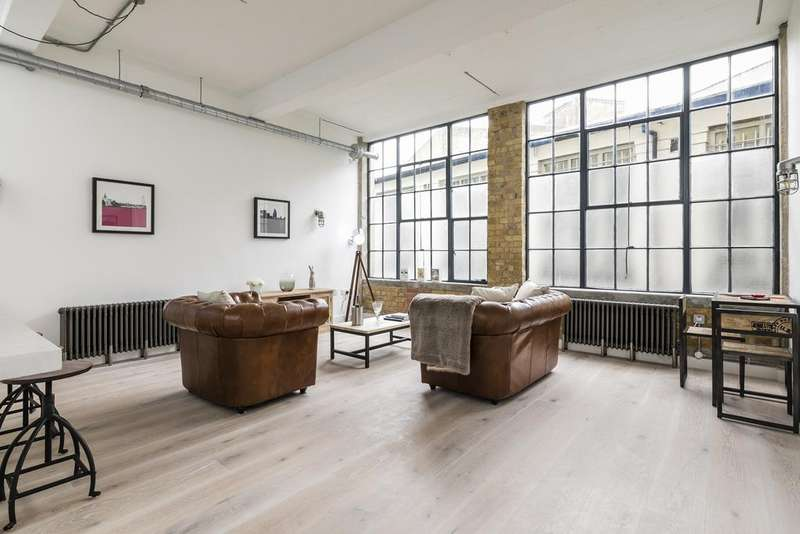2 Bedrooms Apartment Flat for sale in The Shoe Factory, Tudor Road, Hackney, London E9