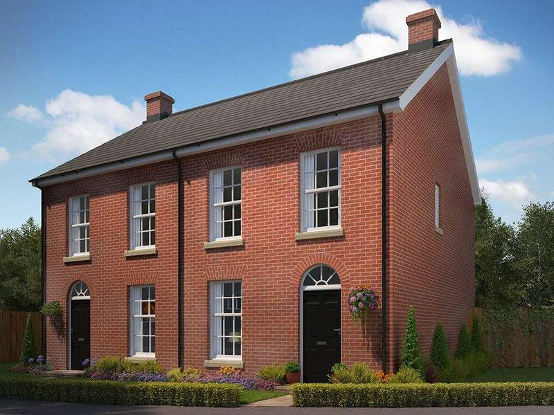 3 Bedrooms Semi Detached House for sale in Plot 161, St George's Park, George Lane, Loddon, Norwich, NR14