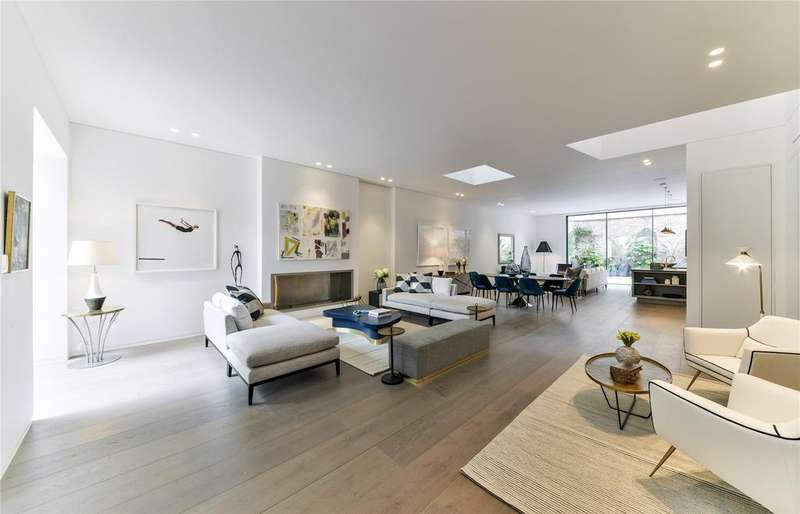 5 Bedrooms Link Detached House for rent in Rede Place, London, W2