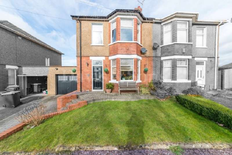 4 Bedrooms Semi Detached House for sale in Christchurch Road, Newport, Gwent. NP19 7QN